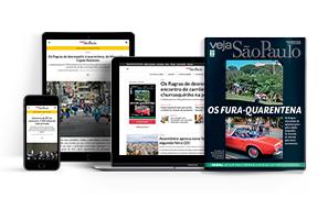 VEJA SÃO PAULO IMPRESSA + DIGITAL