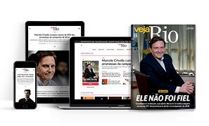 VEJA RIO IMPRESSA + DIGITAL